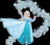 Elsa magic snow