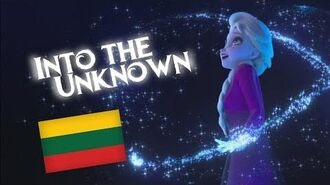 Frozen 2 - Ten, kur nežinia Into the Unknown (Lithuanian)