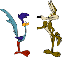 Wile-E.-Coyote-Telling-Road-Runner