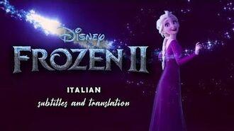 Frozen 2 Into the Unknown (Italian Version) S&T