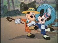 The Nifty Nineties Oufits for Mickey & Minnie