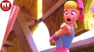 Toy Story 4 Movie Clips 10 24 - Bo-Peep lost her Arm Scene, Woody Prank Scene