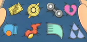 Ashs hoenn badges