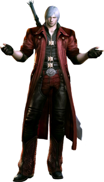 Dante Devil May Cry Character Profile Wikia Fandom