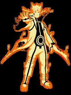 Naruto's Kurama Mode
