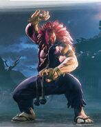 Akuma Character art