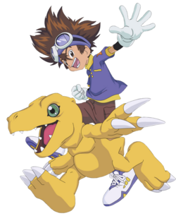 Agumon, Tai's Digimon Partner