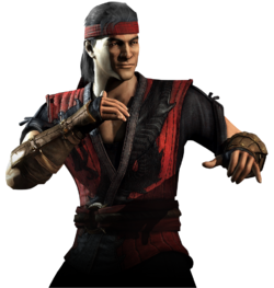 Mortal Kombat - Liu Kang as he appears in Mortal Kombat X