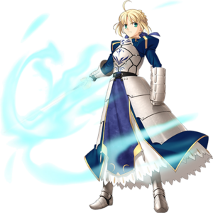 Saber, the King of Knights