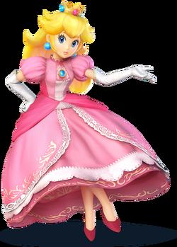 Wii U Peach artwork