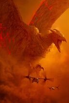 Godzilla King of the Monsters - Rodan poster - Clear keyart