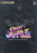 Street Fighter - Akuma as he appears on the Super Street Fighter II Turbo Flyer