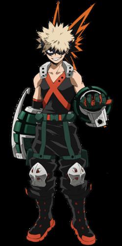 Katsuki Bakugo Character Profile Wikia Fandom