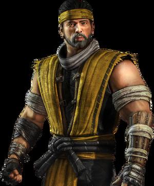 Mortal Kombat - Scorpion as a human once again