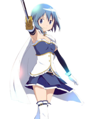 Sayaka Miki, Madoka Kaname's Protector