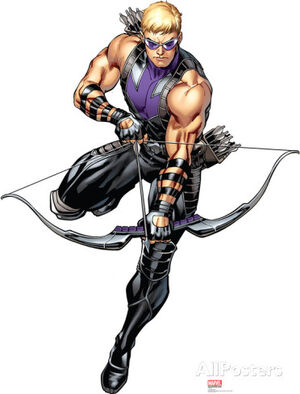 Mordern Suit Hawkeye