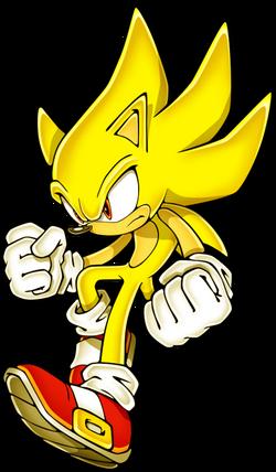 Super (Saiyan) Sonic
