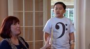 Phillip Goldstein wearing a clef shirt