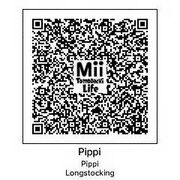 Pippi Longstocking Tomodachi QR