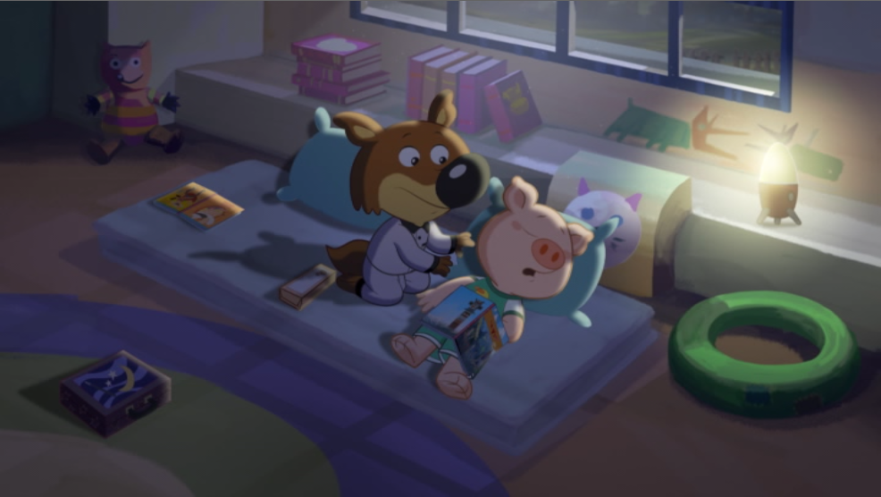 Anderson (Mini Wolf-Mini Loup) In Bed Scene 02