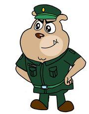 Dog a tat rat a tatmajor saab commander soldier bulldog