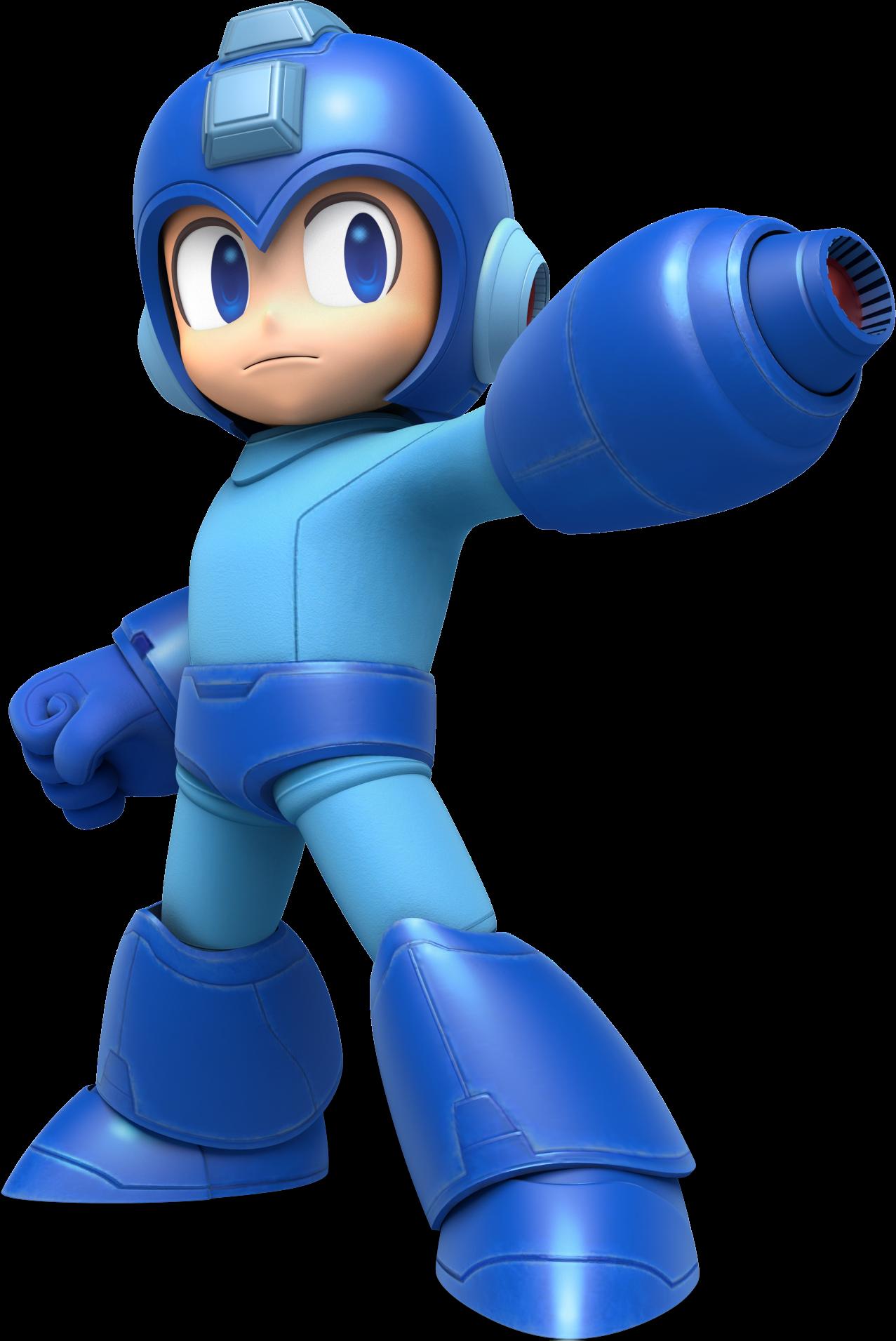 Rock becoming Mega Man