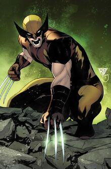 James Howlett (Earth-616) from Wolverine Vol 7 1 Silva Variant cover 001