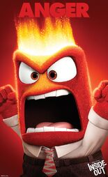 Inside Out Character Poster Anger