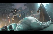 Yokai and his gang kills Baymax