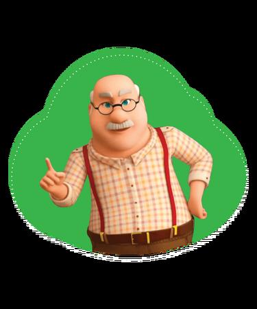 Character Grandpa