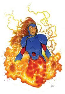 Jean Grey X-Men Red