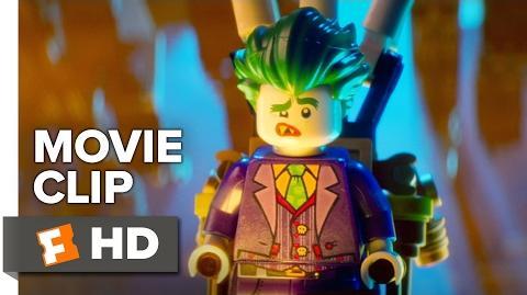 The LEGO Batman Movie CLIP - I Like to Fight Around (2017) - Zach Galifianakis Movie