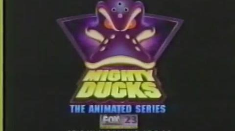 Mighty Ducks - The Animated Series Commercial, 1990s