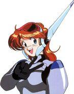Sandy Newman White Armor