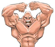 Muscular Characters