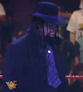 Purple Undertaker after turning the lights on