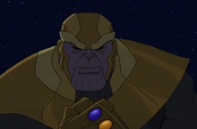 Thanos, in Season 2