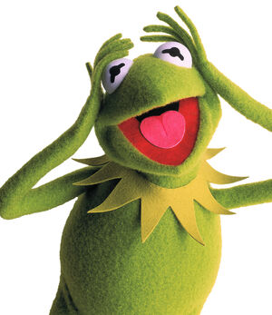 Kermit exasperated