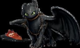 Toothless render