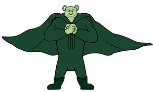 Dog a tat the rat a tat laiya Biswakarma loury super bear man by billiman
