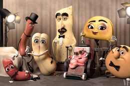 Sausage Party characters