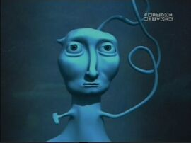 The Blue Creature