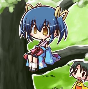 Tree Climbing Girl for Moe no Sakura