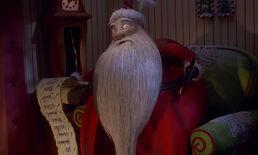 Santa Nightmare Before Christmas
