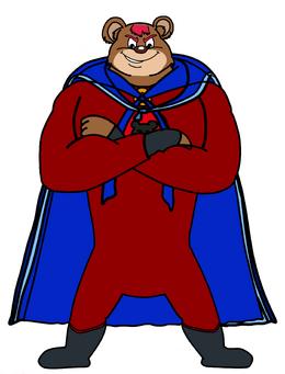 Dog a tat the rat a tat alex sunda Akin Chotamala super hero king bear man by billiman the cat man