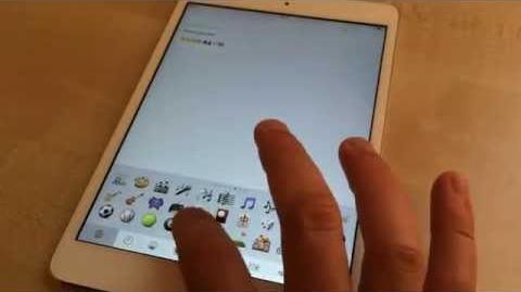 ✅ How to use emoji on iPad running iOS 7