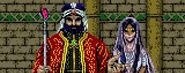 Chamberlain and Princess Manaya for Wizardry Gaiden II Curse of the Ancient Emperor