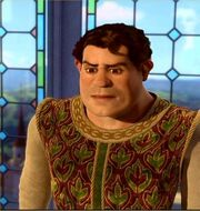Shrek as a human