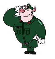 Pradun Kalita Donya boar Respect for the military commander