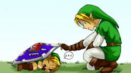 Link discovering Young Link